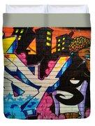 Graffiti 9 Duvet Cover