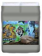 Graffiti Art Albuquerque New Mexico 7 Duvet Cover