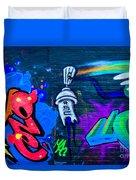 Graffiti Art Nyc 14 Duvet Cover