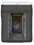 Graffiti Is Barred Duvet Cover