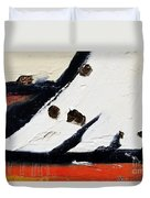 Graffiti Texture I Duvet Cover by Ray Laskowitz - Printscapes