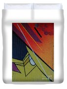 Graffiti Wall Duvet Cover