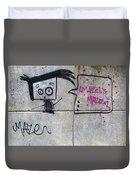 Graffitti Duvet Cover