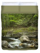 Grafton Notch Maine Duvet Cover