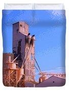Grain Elevator Duvet Cover