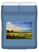 Grain In The Field Duvet Cover