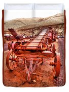 Grain Sack Loader Duvet Cover