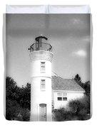 Grainy Lighthouse Duvet Cover