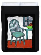 Grampa's Empty Chair Duvet Cover