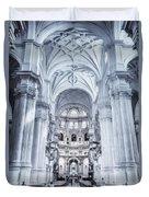 Granada Cathedral Interior Duvet Cover