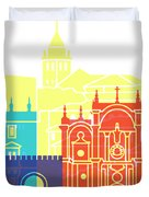 Granada Skyline Pop Duvet Cover