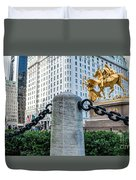 Grand Army Plaza 14 Duvet Cover