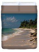 Grand Bahamas Beach Duvet Cover