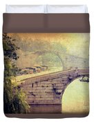 Grand Canal Bridge Suzhou Duvet Cover