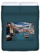 Grand Canal Daylight Duvet Cover