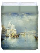 Grand Canal Venice Duvet Cover by Thomas Moran