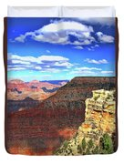 Grand Canyon # 22 - Mather Point Overlook Duvet Cover
