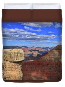 Grand Canyon # 29 - Mather Point Overlook Duvet Cover