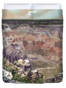 Grand Canyon 08 Duvet Cover