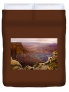 Grand Canyon In The Spring Duvet Cover