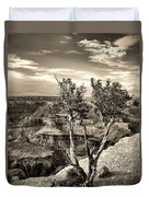 Grand Canyon Lone Tree Duvet Cover
