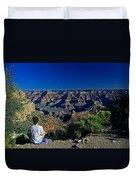 Grand Canyon Meditation Duvet Cover