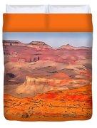 Grand Canyon National Park Summer Duvet Cover