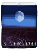 Grand Canyon Nights Duvet Cover