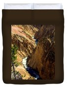 Grand Canyon Of The Yellowstone 2 Duvet Cover