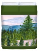 Grand Canyon Of West Virginia Duvet Cover