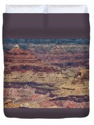 Grand Canyon Orphan Mine Duvet Cover by Susan Rissi Tregoning