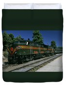Grand Canyon Railway Train Duvet Cover