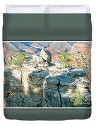 Grand Canyon Rock Formations, Arizona Duvet Cover