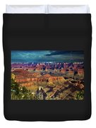 Grand Canyon Storm Duvet Cover