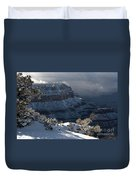 Grand Canyon Storm Duvet Cover by Sandra Bronstein