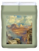 Grand Canyon Duvet Cover by Thomas Moran