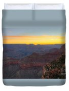 Grand Canyon Twilght Duvet Cover