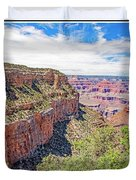 Grand Canyon, View From South Rim Duvet Cover