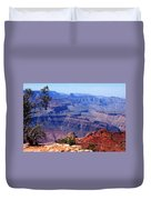 Grand Canyon View Duvet Cover