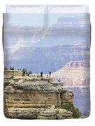 Grand Canyon Vista Duvet Cover