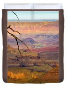 Grand Canyon Vista Duvet Cover