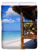 Grand Cayman Relaxing Duvet Cover