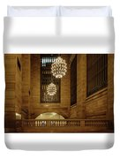 Grand Central Terminal Light Reflections Duvet Cover