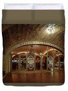 Grand Central Terminal Oyster Bar Duvet Cover