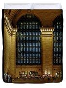 Grand Central Terminal Window Details Duvet Cover