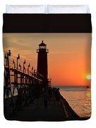 Grand Haven Light Duvet Cover