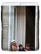 Grand Hotel Minerva Duvet Cover