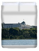 Grand Hotel On Mackinac Island Duvet Cover