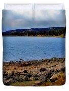 Grand Mesa Lake Duvet Cover