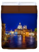 Grand Night On The Garand Canal Duvet Cover